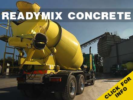 Ready Mixed Concrete Banner